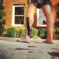 KT Tape Pro for calf pain