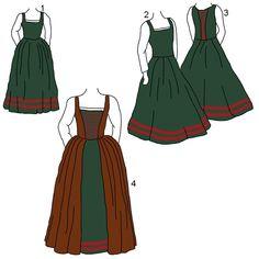 16th century irish dress