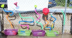 Treasures of the Heart Preschool and Child Care: DIY New Water Wall