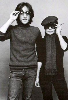 John & Yoko <3
