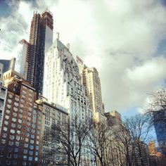 Ritz-Carlton New York, my idea of a luxurious retreat.