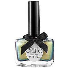 Ciaté, Paint Pots Nail Polish. Formulated WITHOUT:  - Parabens  - Sulfates  - Synthetic Fragrances  - Synthetic Dyes  - Petrochemicals  - Phthalates  - GMOs  - Triclosan ~ $15