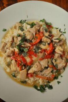 Green Curry #Chicken #Recipe
