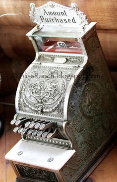 Bliss Ranch: Candy Store Cash Register