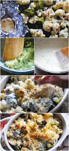 Broccoli Cauliflower Casserole #progresso