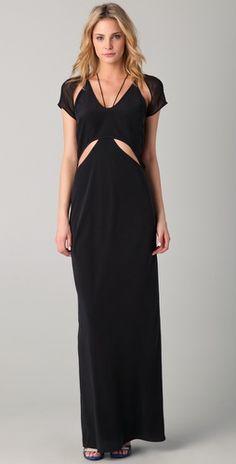 yes. alexander wang maxi dress