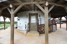 You can sleep inside an old silo at this Fredricksburg, TX bed and breakfast.