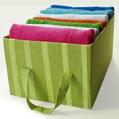 Полезный короб для хранения вещей. / короб из ткани выкройка