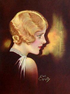 1920 era Illustration by F. Earl Christy (1882-1961) Philadelphia and New York based commercial illustrator.
