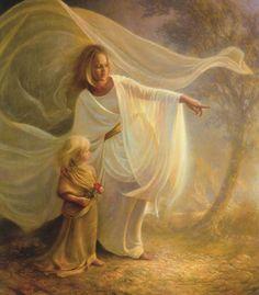 """Greg Olsen, """"Heavenly Hands"""""""