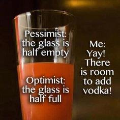 vodka's important!