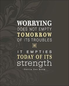useless worry