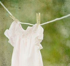 Clothesline -this is how we dried clothes when I was a kid