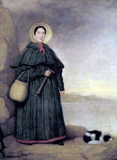 Mary Anning, famous