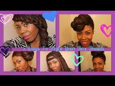 french braids, box braids