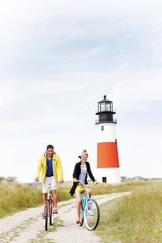 Bike rides + lighthouses