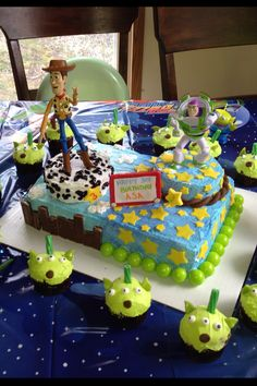 Buzz Lightyear Sheet Cake