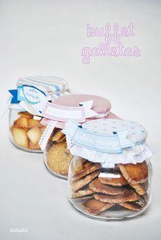 buffet de galletas