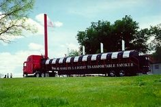 """Texas Lil's World's Largest Transportable Smoker 