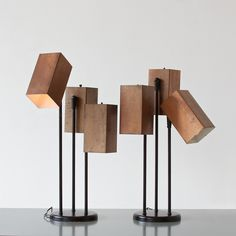 Koch and Lowy, Table Lamps, 1950.