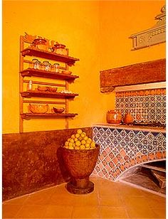Cocinas Mexicanas On Pinterest Mexican Kitchens Hacienda Style And Mexican Tiles
