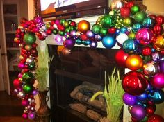 Love this Christmas garland!