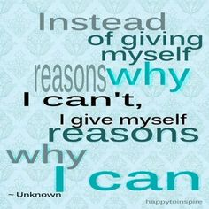 I know I can ^_^