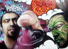 Street Art By Freak. - Christchurch (New Zealand)