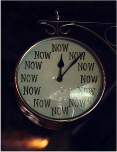 Now is the time :)