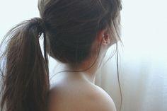 ponytail, ponies, long hair, plait, hair ties, angl, beauti, hairstyl, brown hair