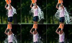"""In what's known as the """"Ice Bucket Challenge,"""" participants get doused with buckets of ice water and then nominate others to receive the icy treatment and keep the cycle going—all in an effort to raise awareness for ALS."""