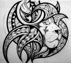maori lion tattoo - Google Search
