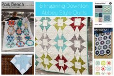 Make It Handmade: Downton Abbey Quilts-- 6 Mod Quilts To Make In Downton Style