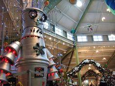 Holiday shopping at Petitti's Garden Center in Avon, OH