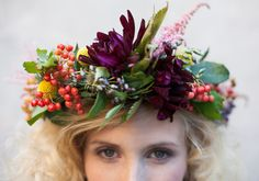 Floral crown How-to.