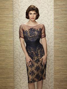 Lizzy Caplan in Masters of Sex - LOOOOOOOOOVE that dress, where can I find it?!?!