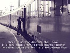 There is no long distance about <3