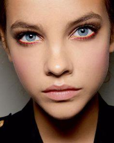 natural makeup, model, spring makeup, eye makeup, blue, make up styles, makeup looks, barbara palvin, natural beauty