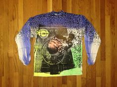 vintage LA gear airbrush mock turtleneck size by legitvintage, $50.00