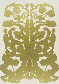 Rorschach  Andy Warhol (American, 1928–1987)    1984. Synthetic polymer paint on canvas