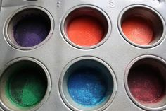 homemade water colour paints
