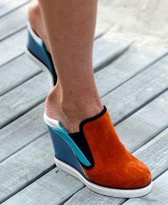 The Daily Shoe | Tommy Hilfiger's Wedge Slip-Ons - NYTimes.com