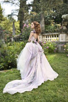 Odette purple gown