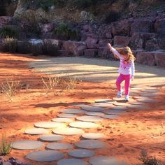 Afternoon adventure in the Red Centre Garden - this pic shared by twitter follower ‏@honeybeebook