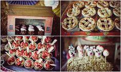 Farm theme birthday party