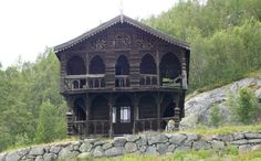 Abandoned house in Norway -