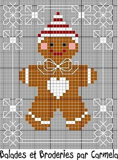 Mr. Gingerbread for Christmas ... is he not cute enough to eat?