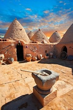 Beehive Houses in Anatolia, Harran Şanlıurfa Turkey