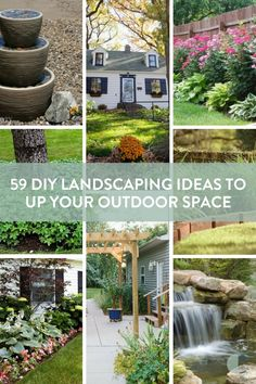 "DIY landscaping ideas for upping curb appeal and transforming the back yard. From cheap edging to patio bliss, there's an inexpensive option for everyone.    #[""gardening"", ""woodworking"", ""Roundup"", ""outdoor"", ""Plants & Garden"", ""patio"", ""deck"", ""front yard"", ""backyard"", ""landscaping""]"