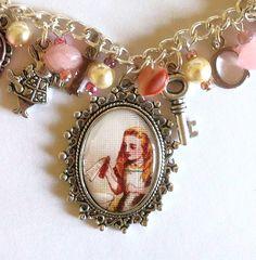 Alice in WonderlMulti Charm Bracelet, £15.00